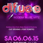 DIFUZE VOL.3 - mixed & compiled by CUT STEVENS & TODT TORETTO