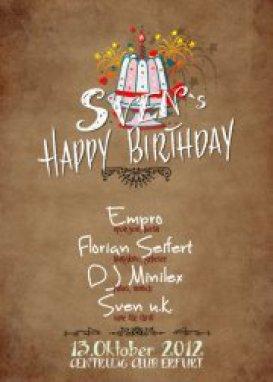 Party Sven U K Geburtstag 20 Jahriges Dj Jubilaum Club