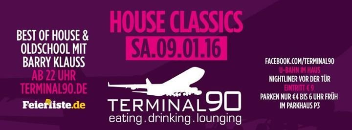 Party house classics mit barry klauss sa for 90s house classics list