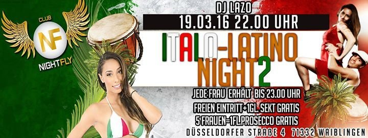 Party - HOUSE PARTY - Nightfly in Waiblingen - 05.02.2016