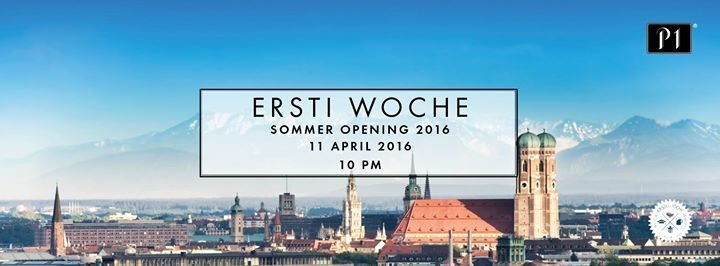 party opening party ersti woche m nchen sommer 2016 p1 in m nchen. Black Bedroom Furniture Sets. Home Design Ideas