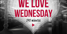 We Love Wednesday - 240 minutes