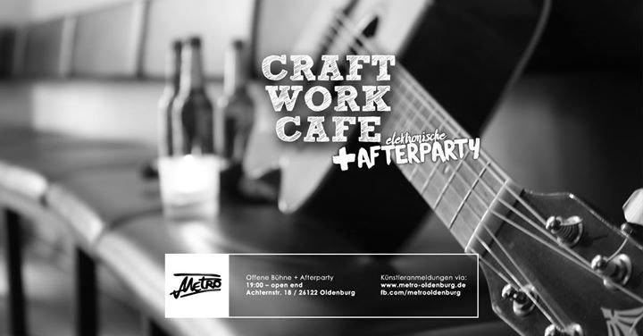 party craftwork caf offene b hne elektronische afterparty metro in oldenburg. Black Bedroom Furniture Sets. Home Design Ideas