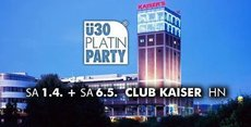 Heilbronn. ü30 Platin Party im Club Kaiser