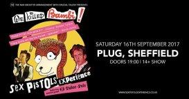El Sex Pistols Experience y Ed Tudor-Pole en Plug | Sheffield