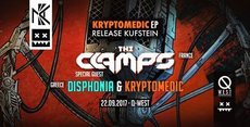 Kryptomedic EP Release Kufstein w/ The Clamps & Disphonia