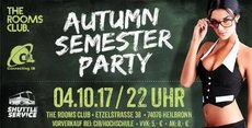 Autumn Semester PARTY