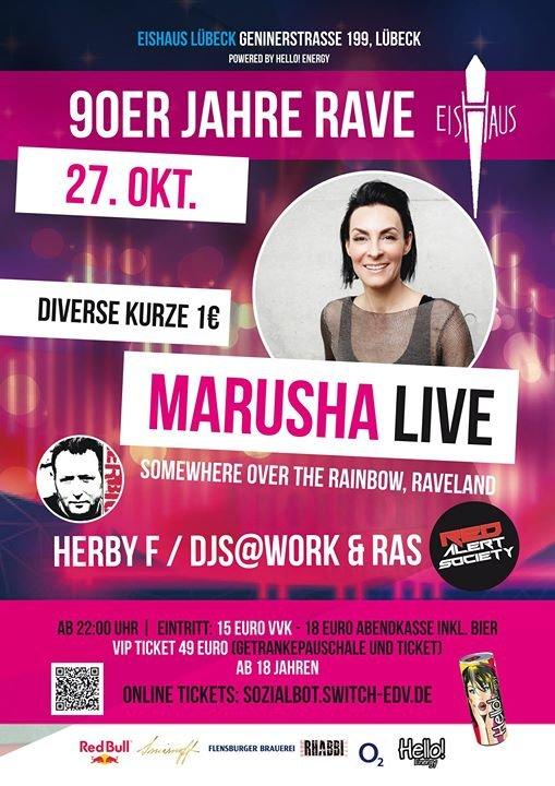 party last friday club tng marusha dj work live 90er rave die halle l beck in stockelsdorf. Black Bedroom Furniture Sets. Home Design Ideas