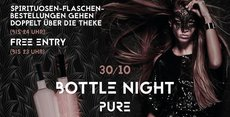 BottleNight - 30.10 (Vorfeiertag) x HipHop & RnB x PURE CLUB