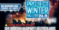 Project Winter Halle101 - Biggest Houseparty in Germany