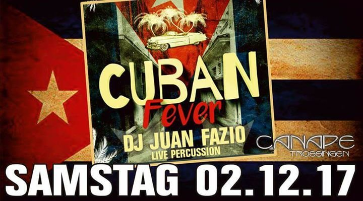 Party cuban fever juan fazio terras canape in for Trossingen canape