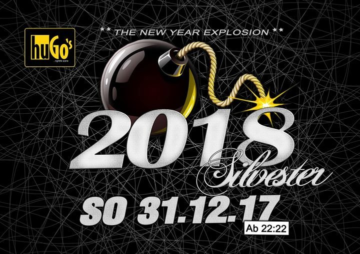 party silvester party 2018 the new year explosion hugo 39 s in ravensburg. Black Bedroom Furniture Sets. Home Design Ideas