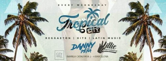 Latin Party Tropical City