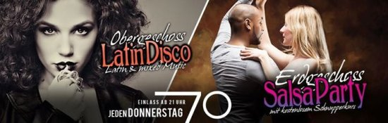 Latin Disco & Salsa Party // 7Grad Stuttgart