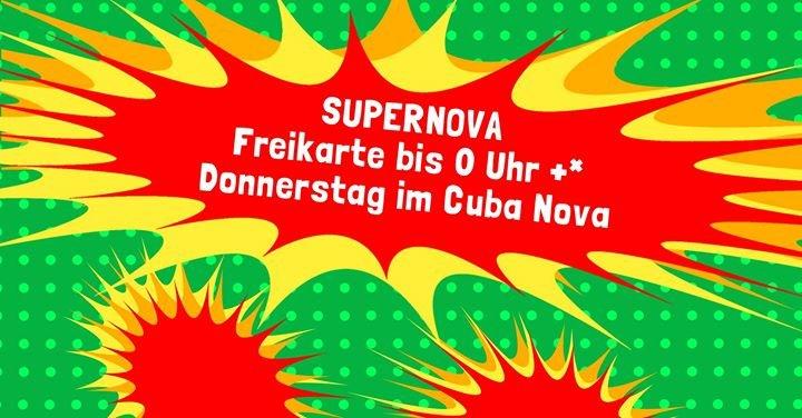 party supernova party 11 1 cuba nova in m nster. Black Bedroom Furniture Sets. Home Design Ideas