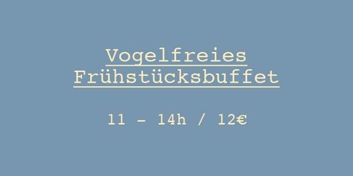party vogelfreies fr hst cksbuffet caf vogelfrei in mannheim. Black Bedroom Furniture Sets. Home Design Ideas