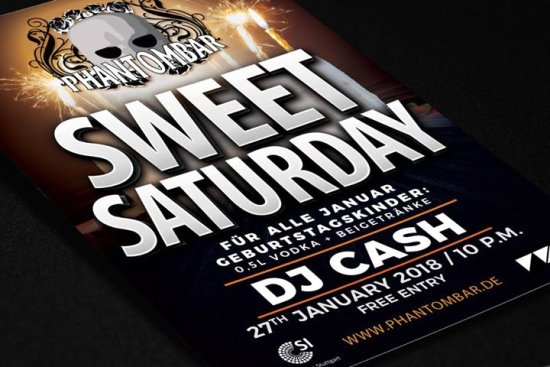 Sweet Saturday // Birthday Bash // DJ Cash