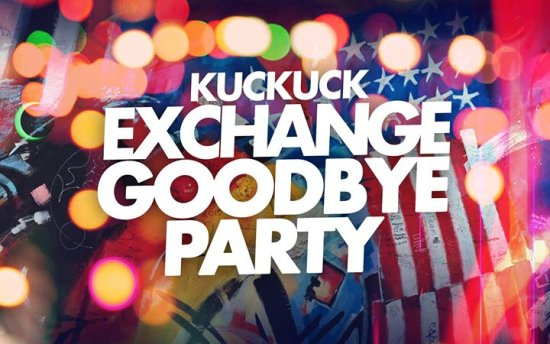 Exchange Goodbye Party WS 2017/18