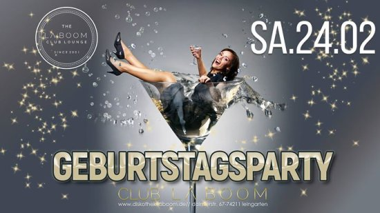 Geburtstags Party - Club La Boom