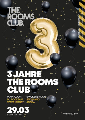 3 Jahre The Rooms Club