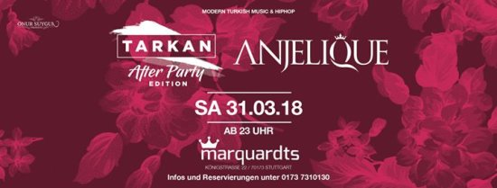 Anjelique / Tarkan Aftershow Party Edition