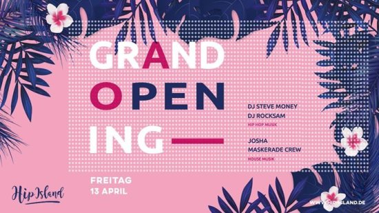 Hip Island Grand Opening