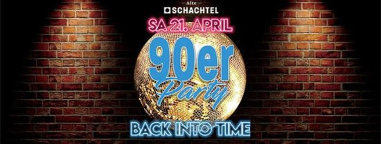 90er Party - BACK INTO TIME