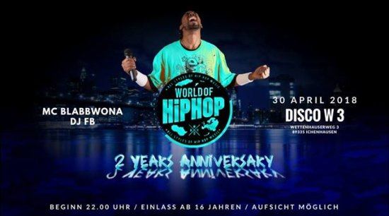 World of Hip Hop 2 Years Anniversary Party