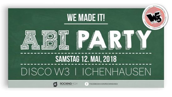 Abiparty 2018 - Disco W3