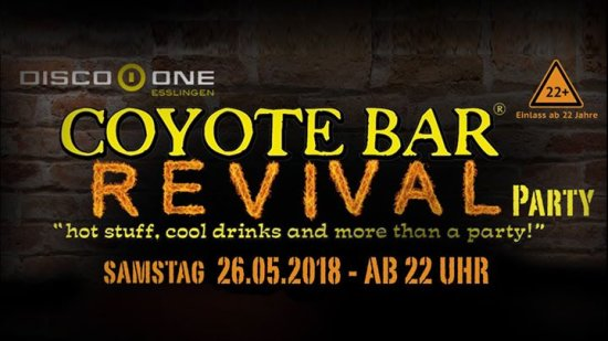 Coyote Revival Party - 17.02. Dick Areal