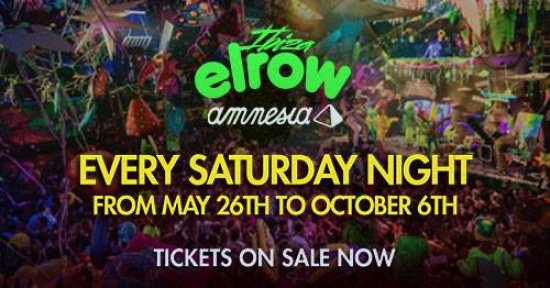 Elrow Ibiza at Amnesia Opening Party