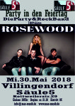 RoseWood Liveparty in den Feiertag