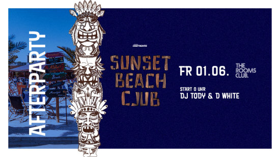 Sunset Beach Club - Afterparty