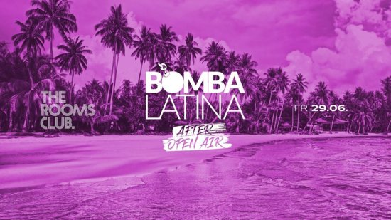 Bomba Latina / Fr • 29.06. ✘ The Rooms Heilbronn /After Open Air