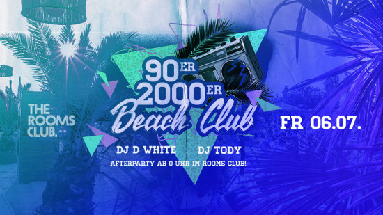 90er & 2000er Beach Club - AFTERPARTY