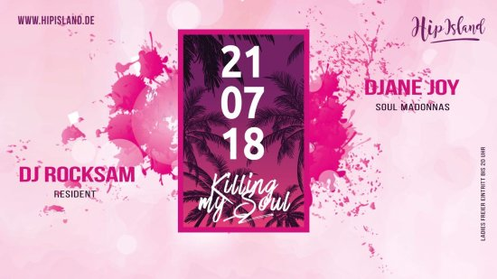 "Killing my Soul "" Open Air "" w/ RockSam & DJane Joy"