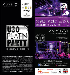 Stuttgart. ü30 Platin Party 'Luxury Edition'