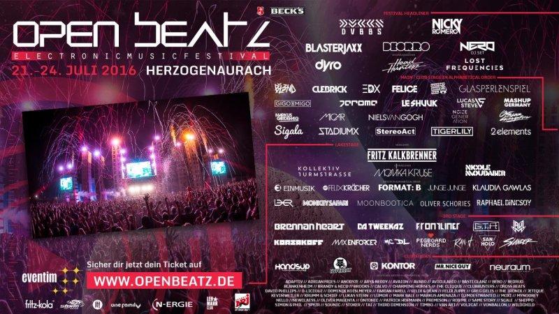 Open Beatz Festival - Tickets, Dates, Events, Partypics